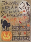 Halloween Bright - (Cross Stitch)