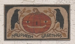 Halloween Greetings - (Cross Stitch)