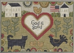 God is Good - (Cross Stitch)