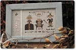 Halloween Royal Family - (Cross Stitch)
