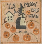 Merry Halloween - (Cross Stitch)