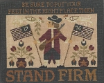 Stand Firm - (Cross Stitch)