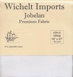 28 Count White Jobelan 18