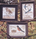 The Bird Colleciton Part iV - (Cross Stitch)