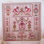 Christmas in Quilt - (Cross Stitch)