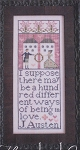 A Hundred Ways (Jane Austen) - (Cross Stitch)