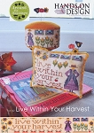 Live Within Your Harvest - (Cross Stitch)