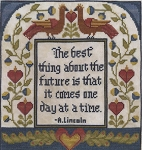 One Day at a Time - (Cross Stitch)