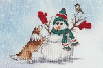 Mitten Games - (Cross Stitch)