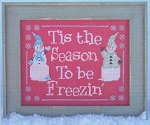 Freezin' Season - (Cross Stitch)