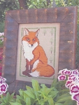 Little Red Fox - (Cross Stitch)