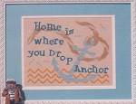 Home is Where You Drop Your Anchor - (Cross Stitch)