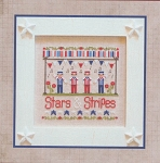 Stars & Stripes - (Cross Stitch)