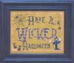 Have a Wicked Halloween - (Cross Stitch)