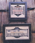 Tavern Signs Revisited - (Cross Stitch)