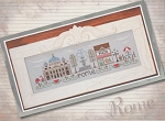 Afternoon in Rome - (Cross Stitch)
