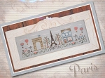 Afternoon in Paris - (Cross Stitch)