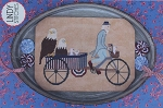 Uncle Sam's Rickshaw - (Cross Stitch)