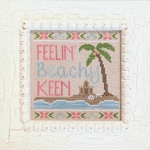 Beach Keen - (Cross Stitch)