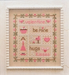 Be My Valentine - (Cross Stitch)