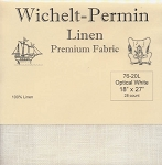 28 Count Optical White Linen Wichelt 18