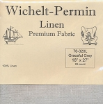28 Count Graceful Grey Linen Wichelt 18
