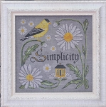 There is Beauty in Simplicity - (Cross Stitch)