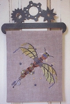 Steam Punk Dragonfly - (Cross Stitch)