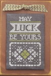 A Year in Chalk March - May Luck be Yours