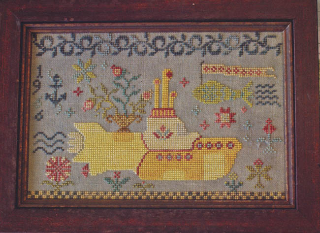 Magical Mystery Tour Pattern 5 Yellow Submarine