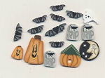 Black Cat Manor Button Pack Praiseworthy Stitches