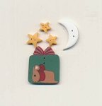 Not A Creature Was Stirring Button Pack Fanci That