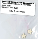 Little Sheep Virtues Faith Button pack