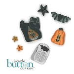 Be-Attitudes October Be A Witch Button Pack