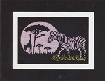 Let There Be Night - African Night - (Cross Stitch)