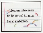 Ambition - (Cross Stitch)