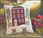 Red House in Winter - (Cross Stitch)