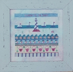 Summer by the Shore - (Cross Stitch)