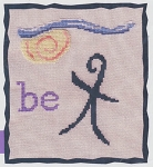 It's Nice to Be Me - (Cross Stitch)