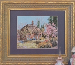 Marty Bell's Cherry Tree Thatch - (Cross Stitch)
