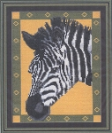 Zebra - (Cross Stitch)