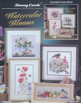 Watercolor Blooms - (Cross Stitch)