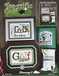 Tee-rrific Golf - (Cross Stitch)