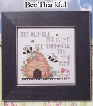 Simply Inspirational - Bee Thankful - (Cross Stitch)