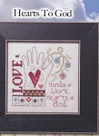 Simply Inspirational - Hearts to God - (Cross Stitch)
