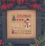 Joyous Christmas - (Cross Stitch)