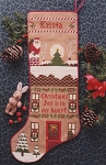Krista's Christmas Stocking - (Cross Stitch)