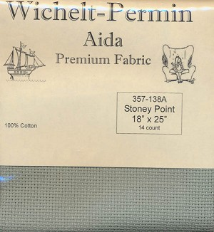 "14 count Stoney Point Aida 18""x25"" #357-138A"