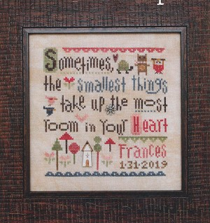 Smallest Things Sampler w/Buttons
