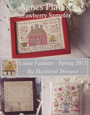 Agnes Platt's Strawberry Sampler Loose Feathers